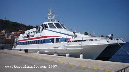 Ferry Nona Ana in Korcula