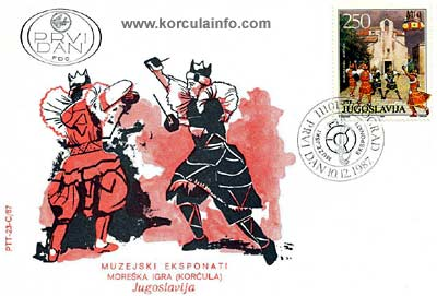 Old Postcard of Moreska