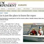 Learning to sail in Lumbarda