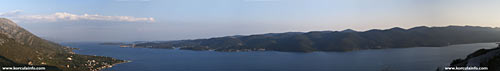 Large Panorama of Peljesac Channel