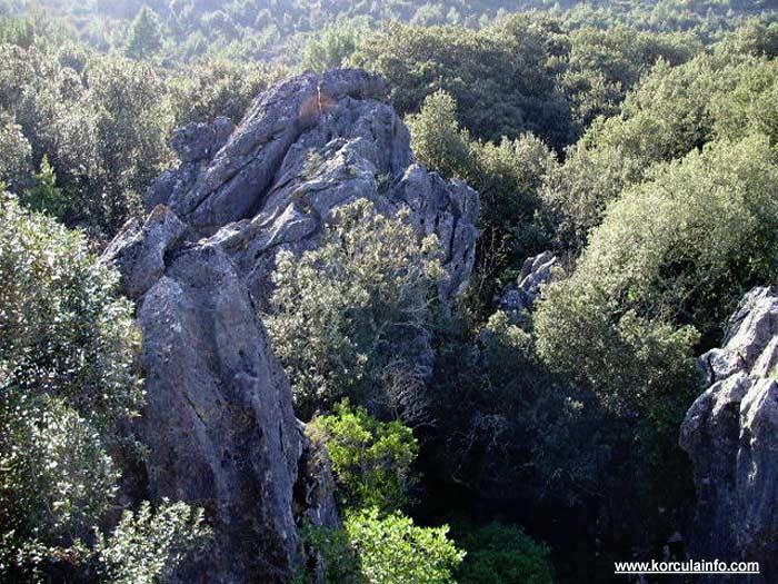 Large Rocks in Kocje