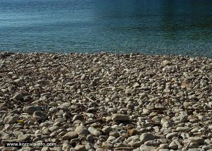 Pebbles in the bay