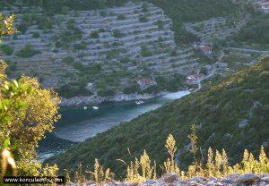 Views from Zaglav over Pavja Luka
