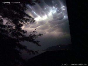 Lighting (Storm) in Korcula