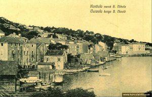 Sveti Nikola in early 1900s
