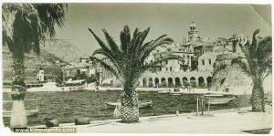 Riva viewed from Sveti Nikola (1960s)