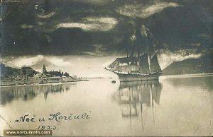 Romantic views over Sveti Nikola (in 1923)