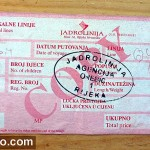 Ferry ticket Orebic - Domince (Korcula)