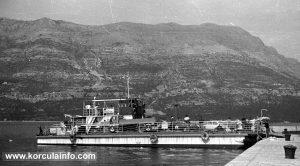 Ferry Badija in 1960s