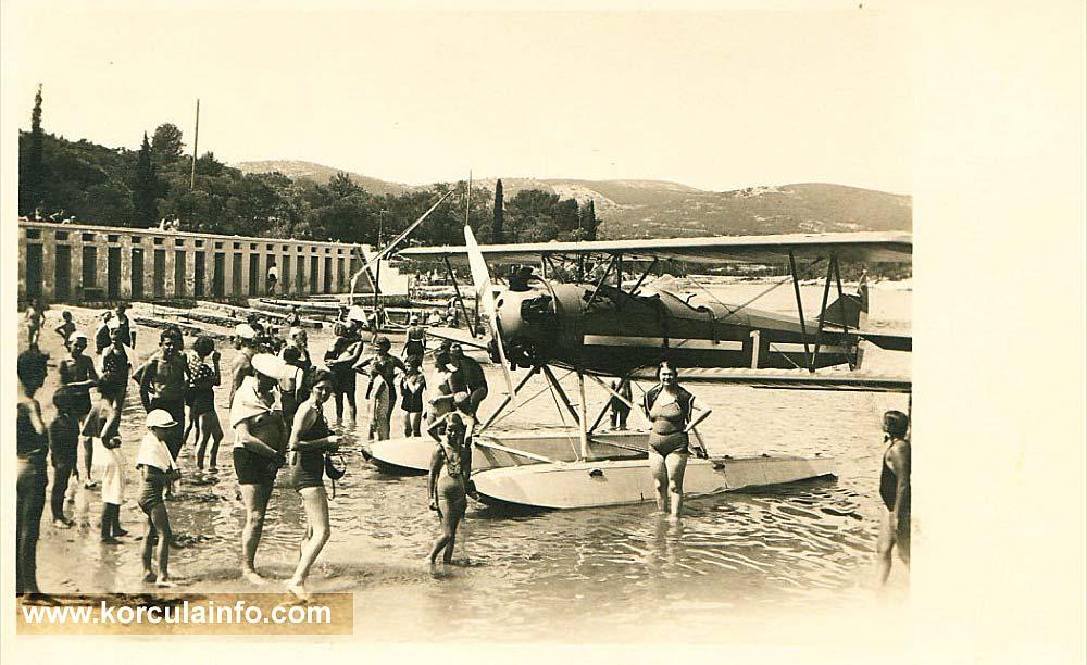 Hydroplane @ Korcula in 1936