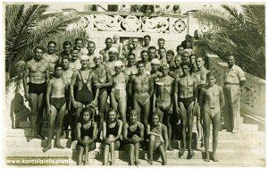 Members of KPK swimming and water polo club (Korcula 1935)