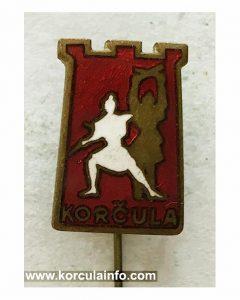 Moreska (Korcula) Badge (1970s)