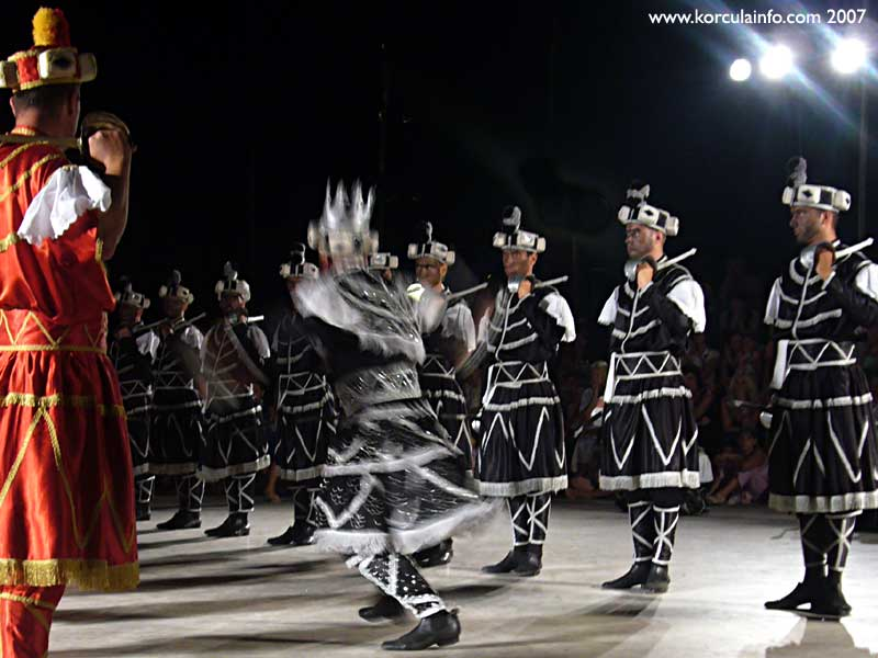 Moreska - Black King Dance