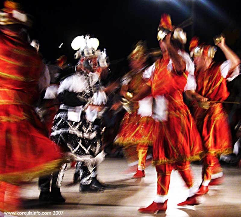 Moreska Dance Movement