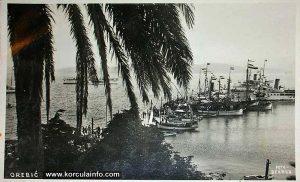 Ships - Orebic 1930s