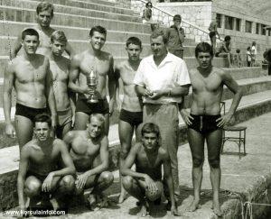 Junior Water Polo Team - KPK in 1965
