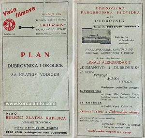 Ferry to Korcula from Dubrovnik (1930s)