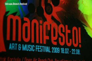 Istruga Manifesto Festival Poster 2009