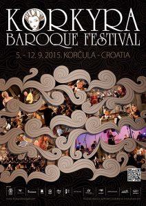 Korkyra Baroque Festival Poster 2015