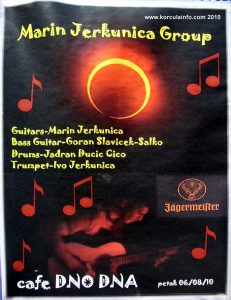 Marin Jerkunica Band poster