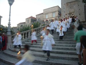 Taking photos of Sveti Todor Procession