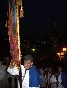 Marinko and Flag of Sveti Todor