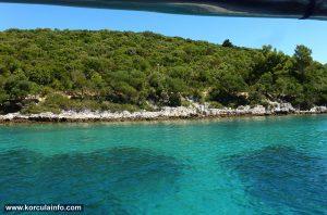 Turquoise Water on Badija