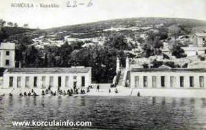 Banje viewed from the bay (1930s)
