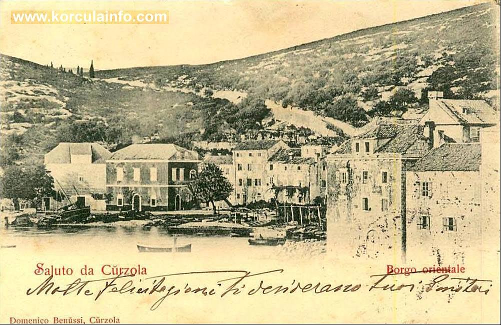 Borak Korcula 1890s