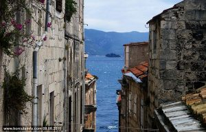 Gregal in Korcula Old town (2011)