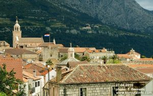 Views over Korcula Town and Beyond (27.04.2016)