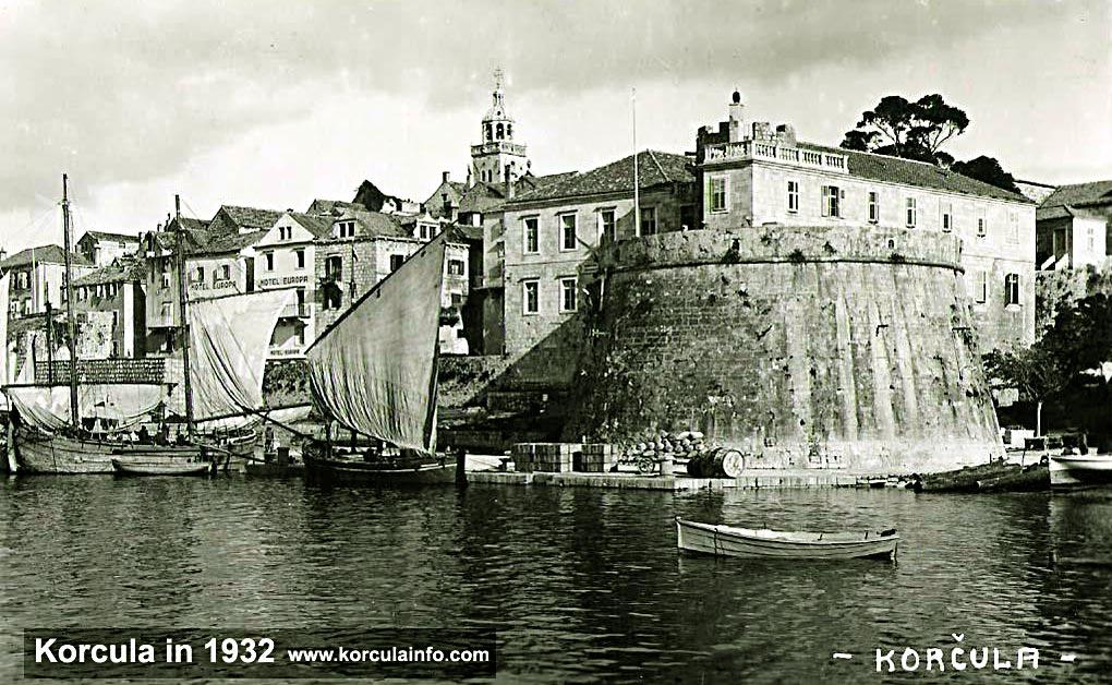 Korcula Port in 1932