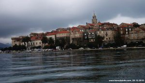 Cloudy afternoon @ Korcula Town