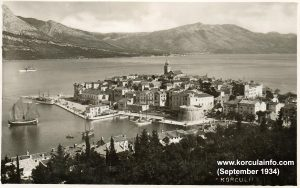 Korcula Old Town (03.09.1934)