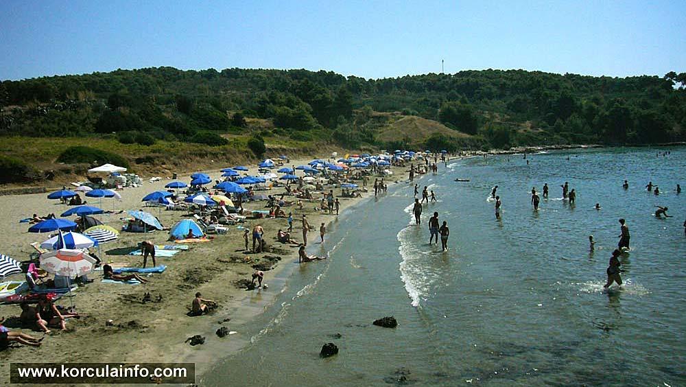 Beaches in Lumbarda