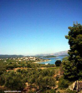 Panorama of Lumbarda (from Vela Przina)