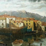 Nasta Rojc: Painting of Korcula