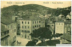 Birds view image of Banicevica Trg (Piazza Banisio)