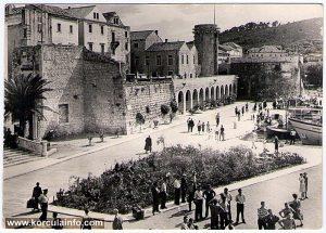 Tower Of Sea Gate (Tower Kula Morska Vrata) in situ (1960s)