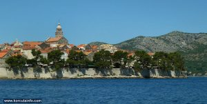 East Side of Korcula Town Walls