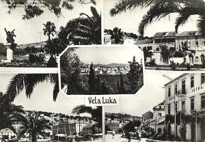 Vela Luka in 1959