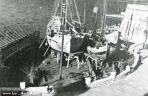Shipyard Vicko Sessa, Korcula