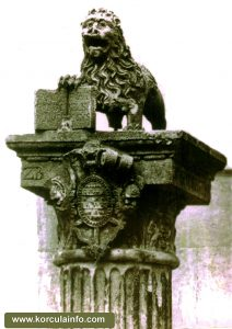 Lions of St Mark on top of the Pillar, from 1569