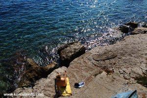 Rocks and slabs at Zakerjan