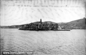 Views over Zakerjan, Korcula (1900s)