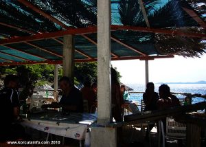 Terrace of the Restaurant at Bacva Beach