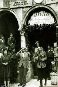 Fitzroy MacLean in Korcula in 1943