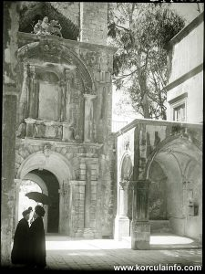 Two Ladies in Korcula (1900s)
