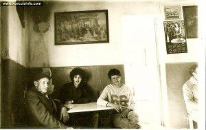 Locals inside krcma Mali Ucijak - mid 1970's