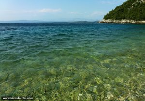 Colours of Water at Samograd Beach